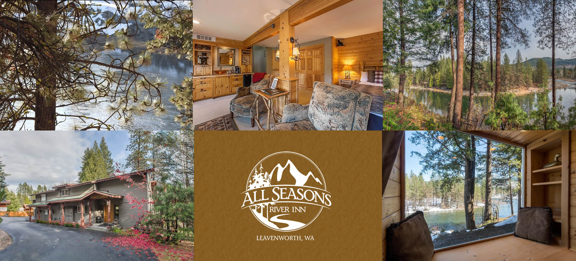 leavenworth vacation rental rooms on the river with water views